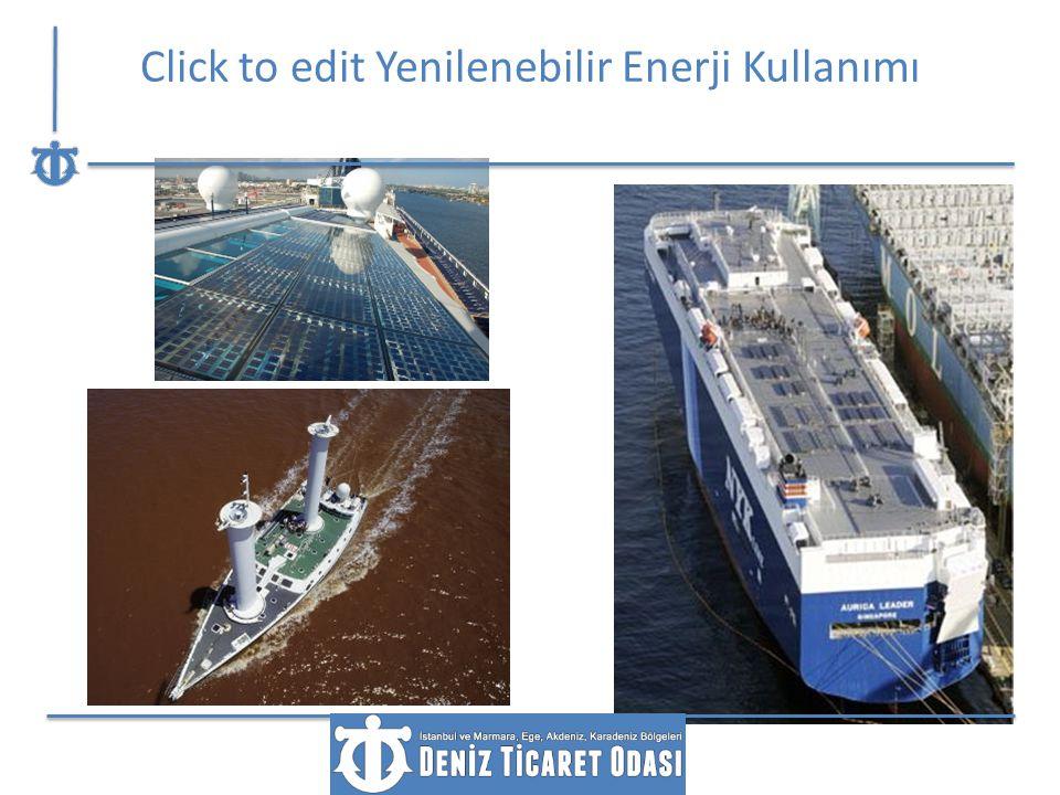 Click to edit Yenilenebilir Enerji Kullanımı
