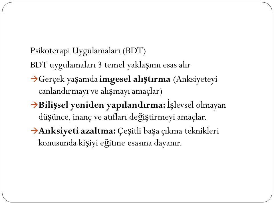 Psikoterapi Uygulamaları (BDT)