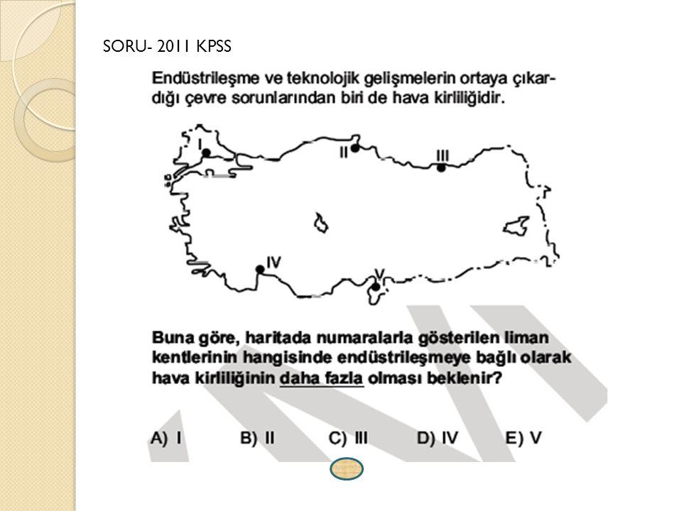 SORU- 2011 KPSS