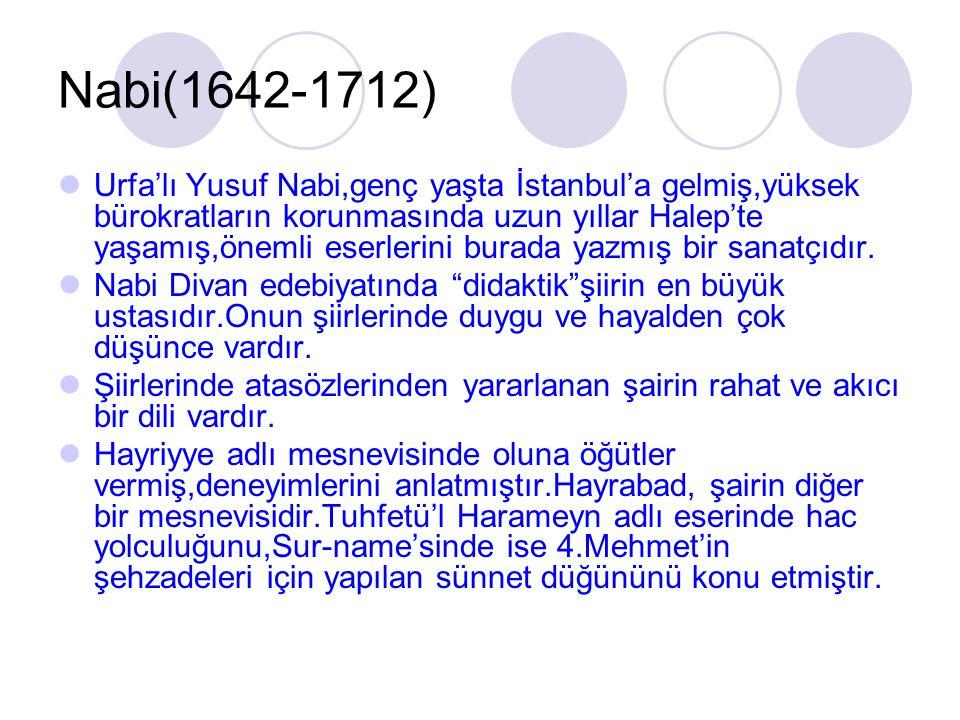 Nabi(1642-1712)