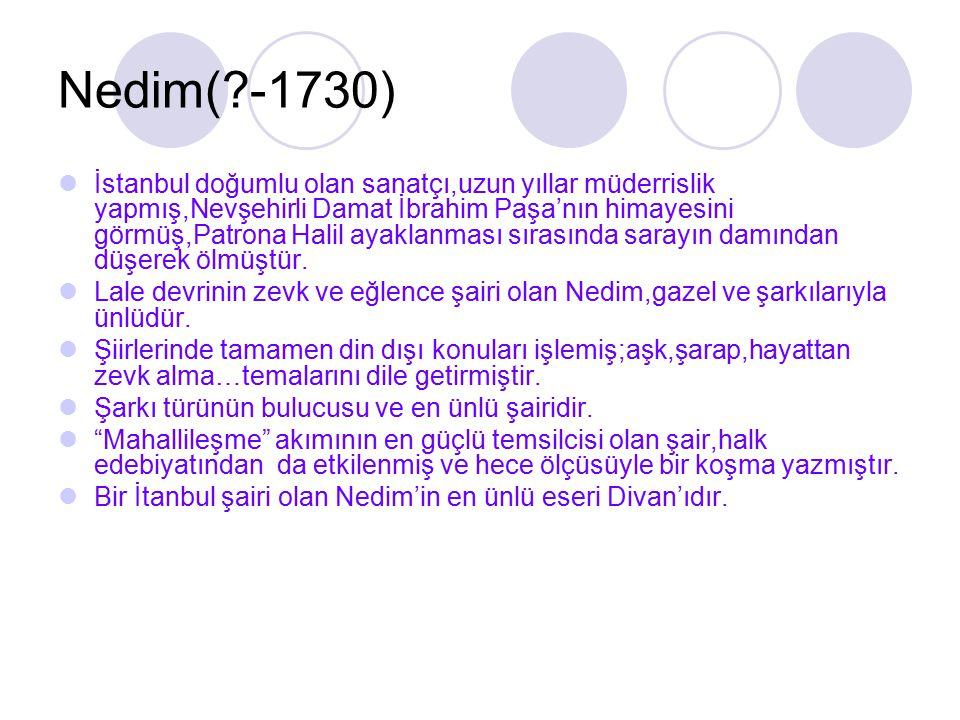 Nedim( -1730)