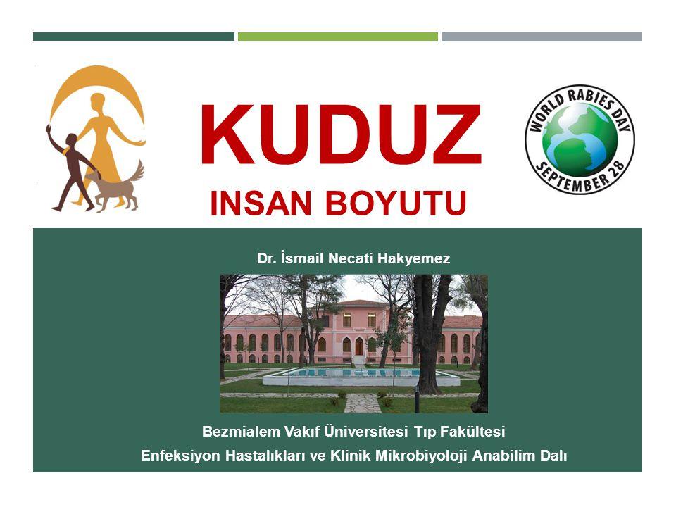KUDUZ insan boyutu Dr. İsmail Necati Hakyemez