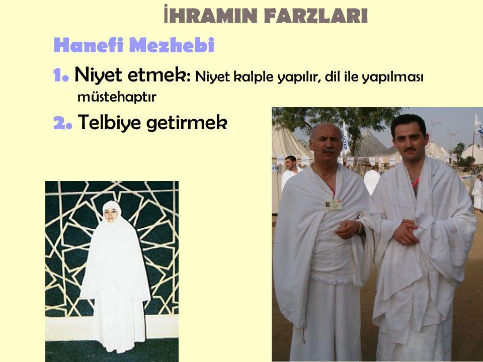 İHRAMIN FARZLARI Hanefi Mezhebi 1