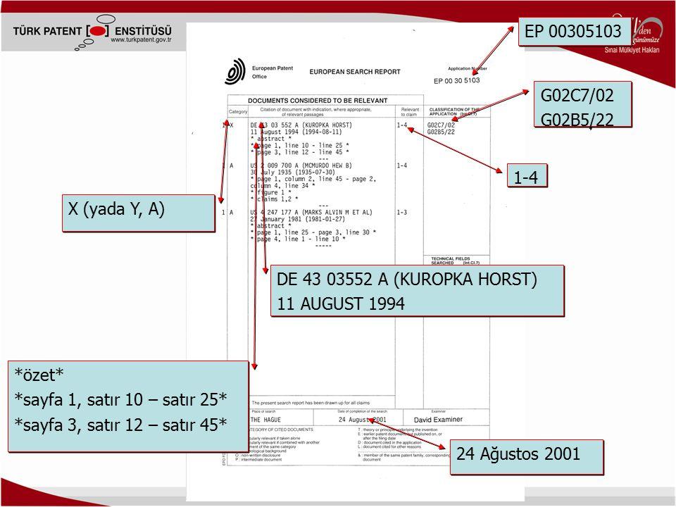 EP 00305103 G02C7/02. G02B5/22. 1-4. X (yada Y, A) DE 43 03552 A (KUROPKA HORST) 11 AUGUST 1994.