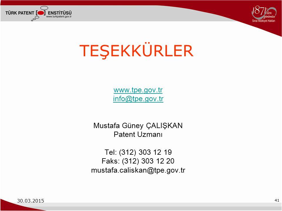 Mustafa Güney ÇALIŞKAN