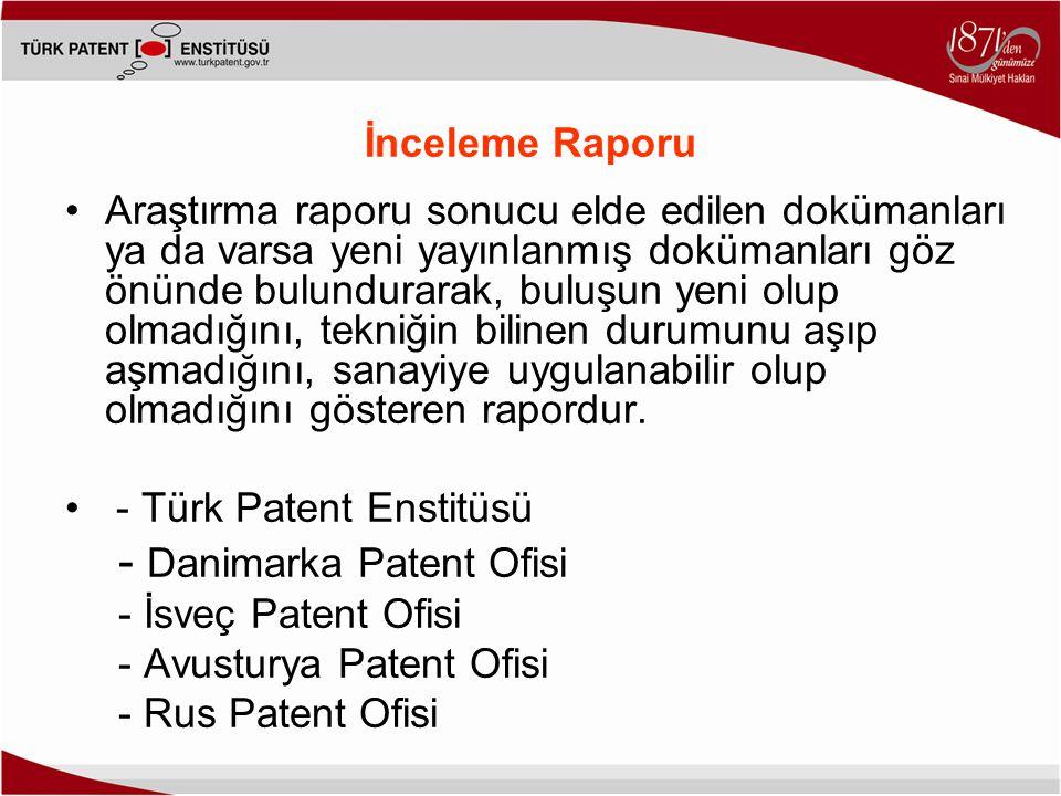 - Danimarka Patent Ofisi