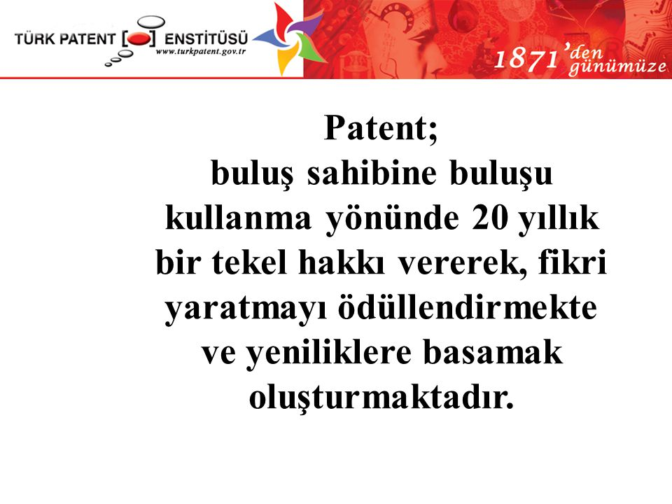 Patent;