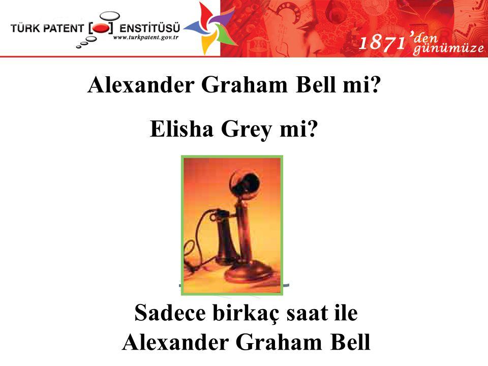 Alexander Graham Bell mi Sadece birkaç saat ile Alexander Graham Bell