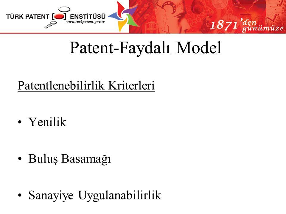 Patent-Faydalı Model Patentlenebilirlik Kriterleri Yenilik