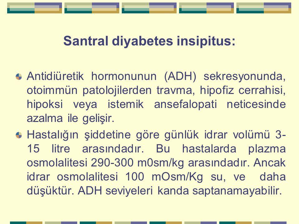 Santral diyabetes insipitus: