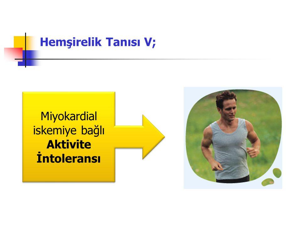 Miyokardial iskemiye bağlı Aktivite İntoleransı