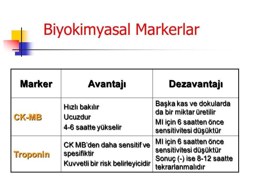 Biyokimyasal Markerlar