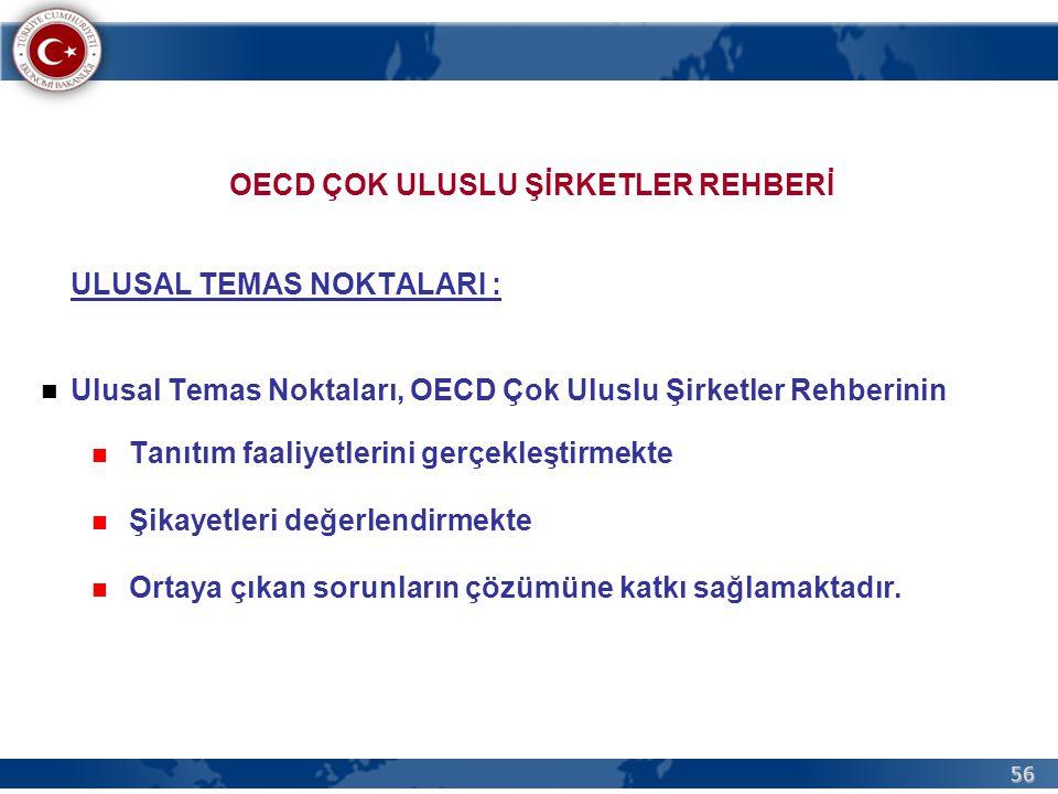 OECD ÇOK ULUSLU ŞİRKETLER REHBERİ