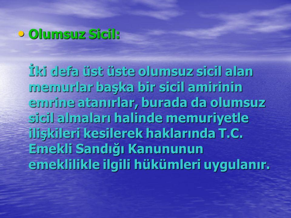 Olumsuz Sicil: