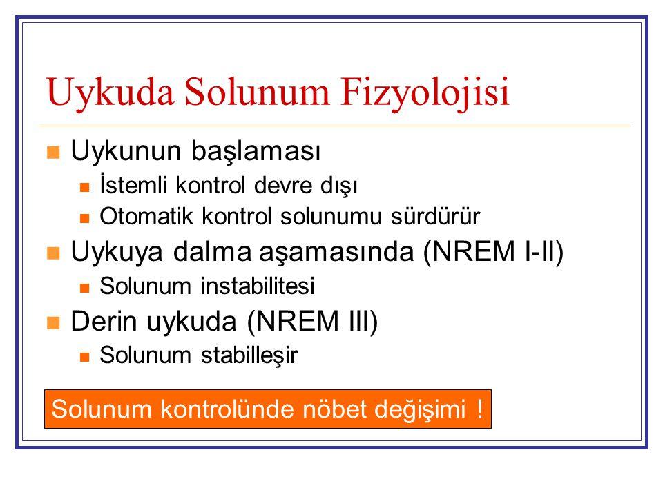 Uykuda Solunum Fizyolojisi