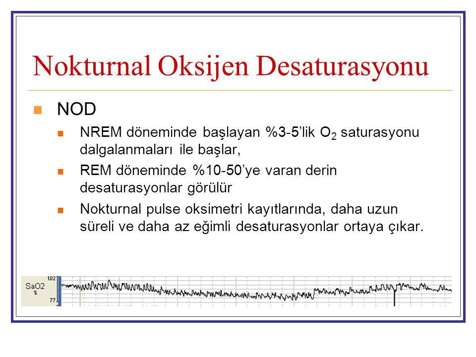 Nokturnal Oksijen Desaturasyonu
