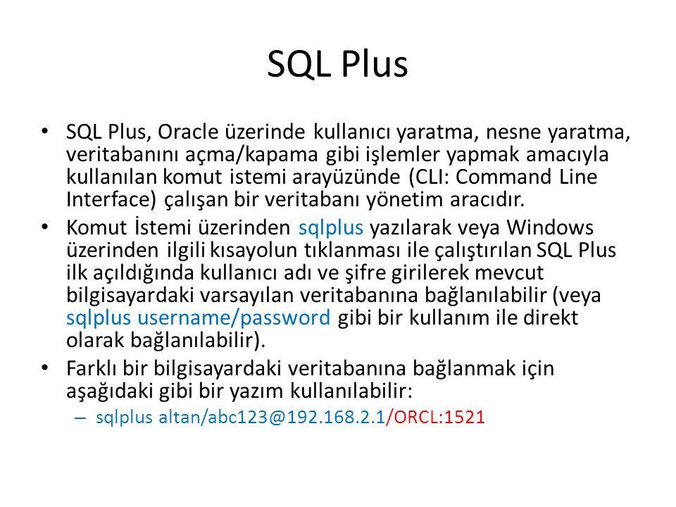 SQL Plus