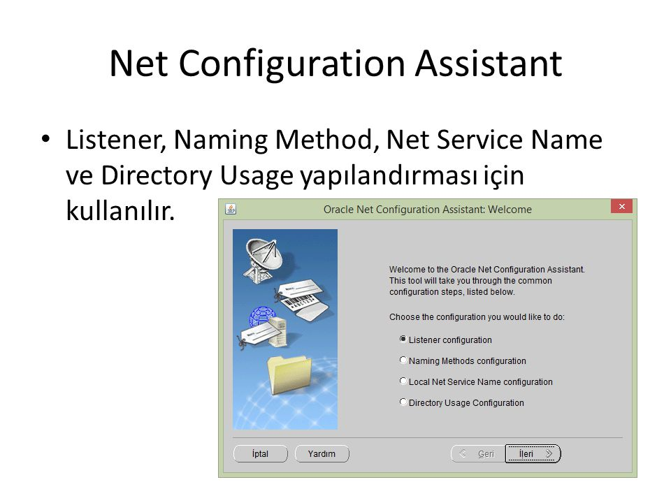 Net Configuration Assistant