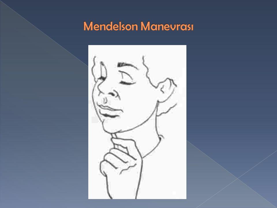 Mendelson Manevrası