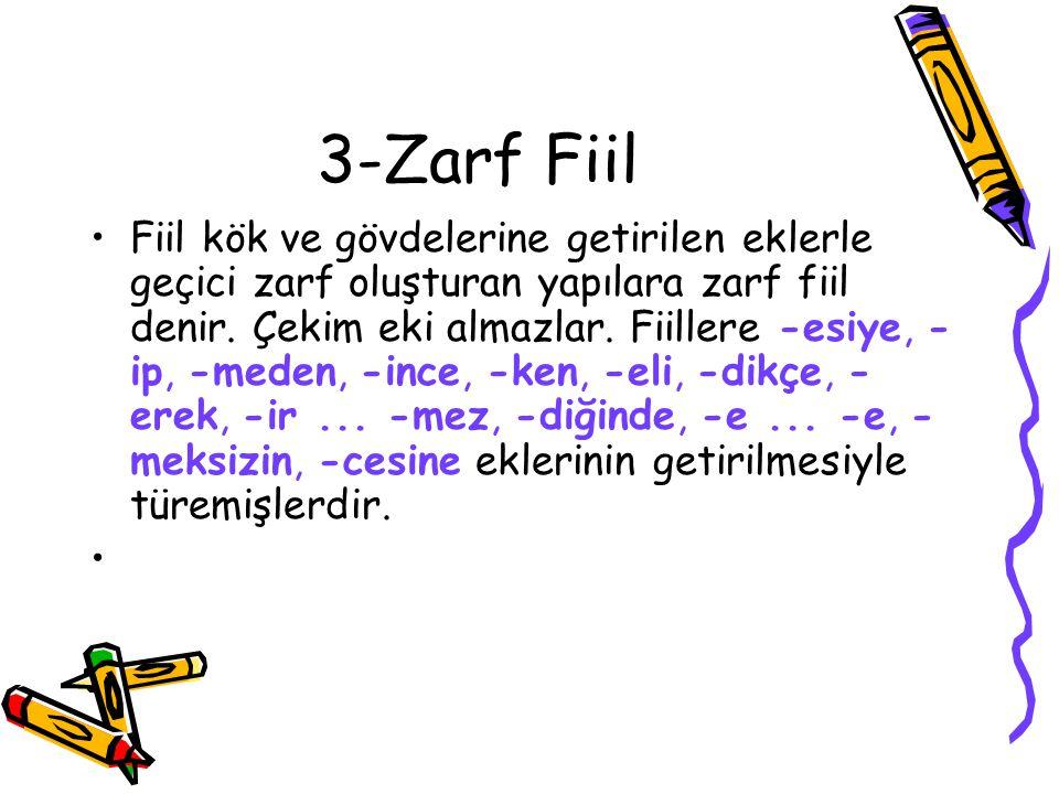 3-Zarf Fiil