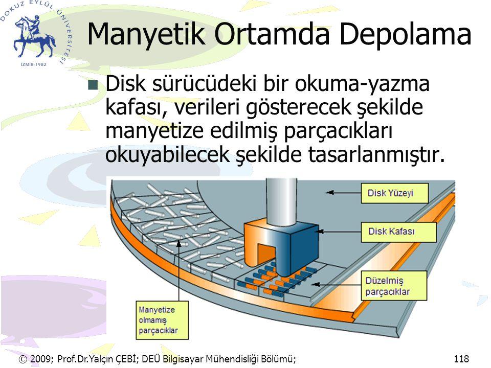 Manyetik Ortamda Depolama