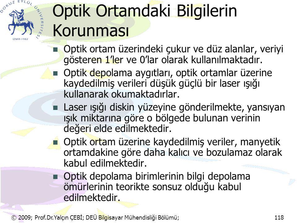 Optik Ortamdaki Bilgilerin Korunması