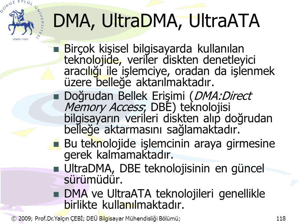 DMA, UltraDMA, UltraATA