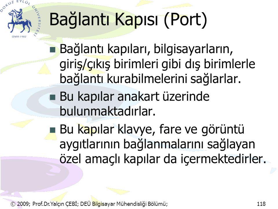 Bağlantı Kapısı (Port)
