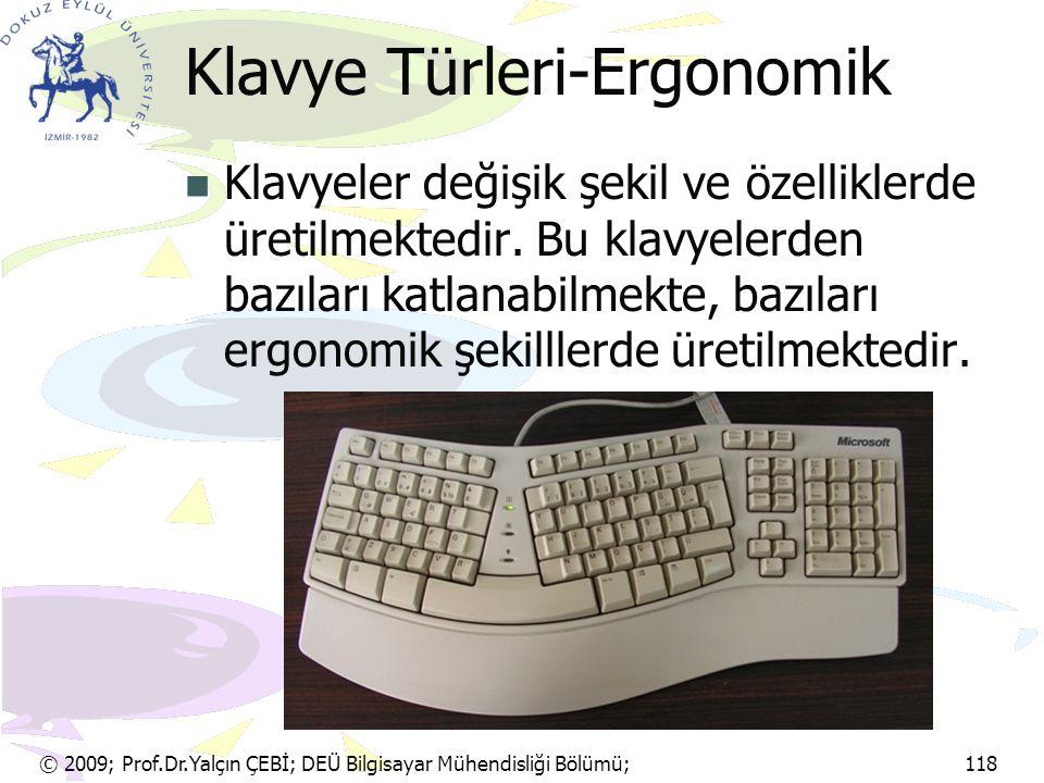 Klavye Türleri-Ergonomik