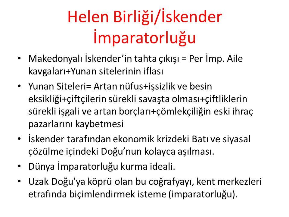 Helen Birliği/İskender İmparatorluğu