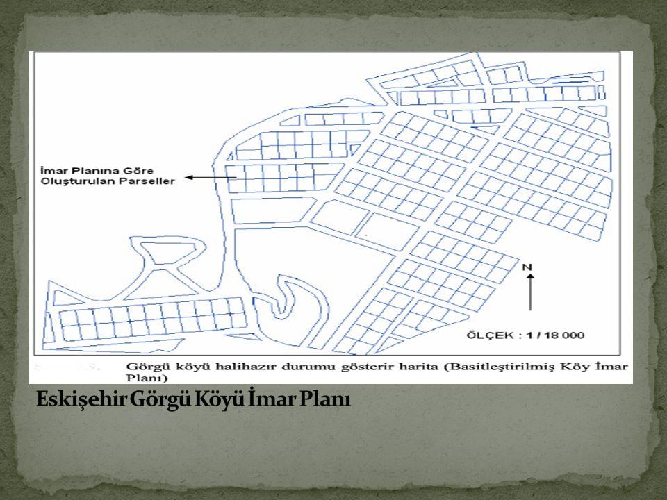 Eskişehir Görgü Köyü İmar Planı