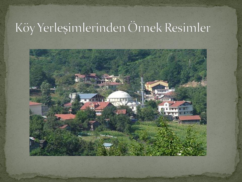 Köy Yerleşimlerinden Örnek Resimler