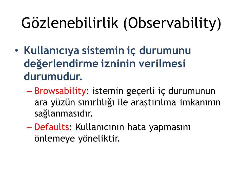 Gözlenebilirlik (Observability)