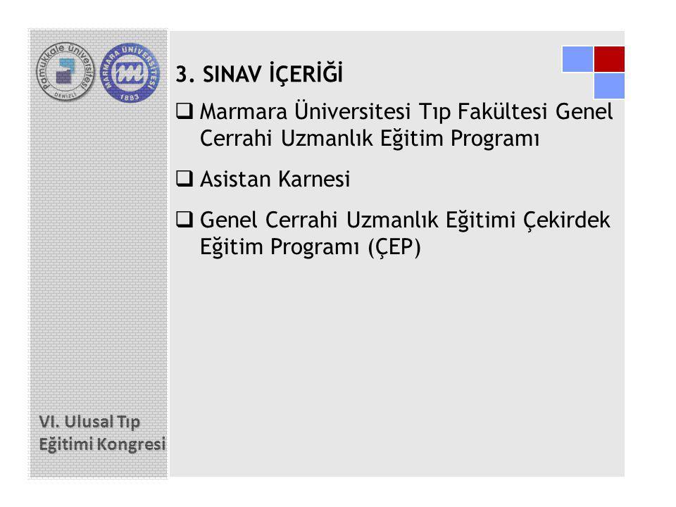 Genel Cerrahi Uzmanlık Eğitimi Çekirdek Eğitim Programı (ÇEP)