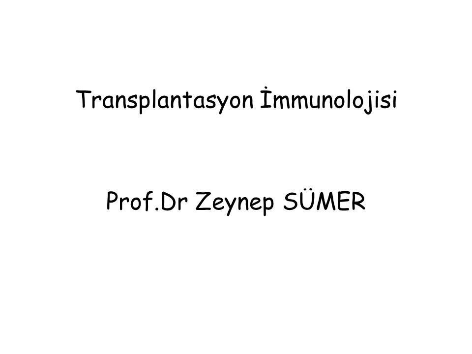 Transplantasyon İmmunolojisi