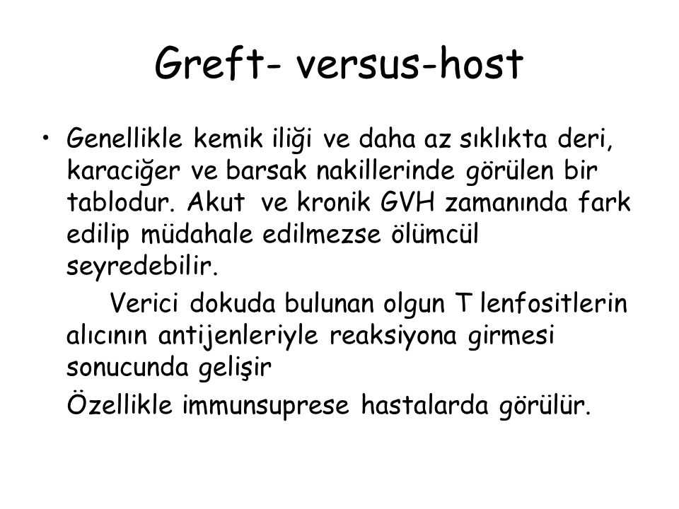 Greft- versus-host