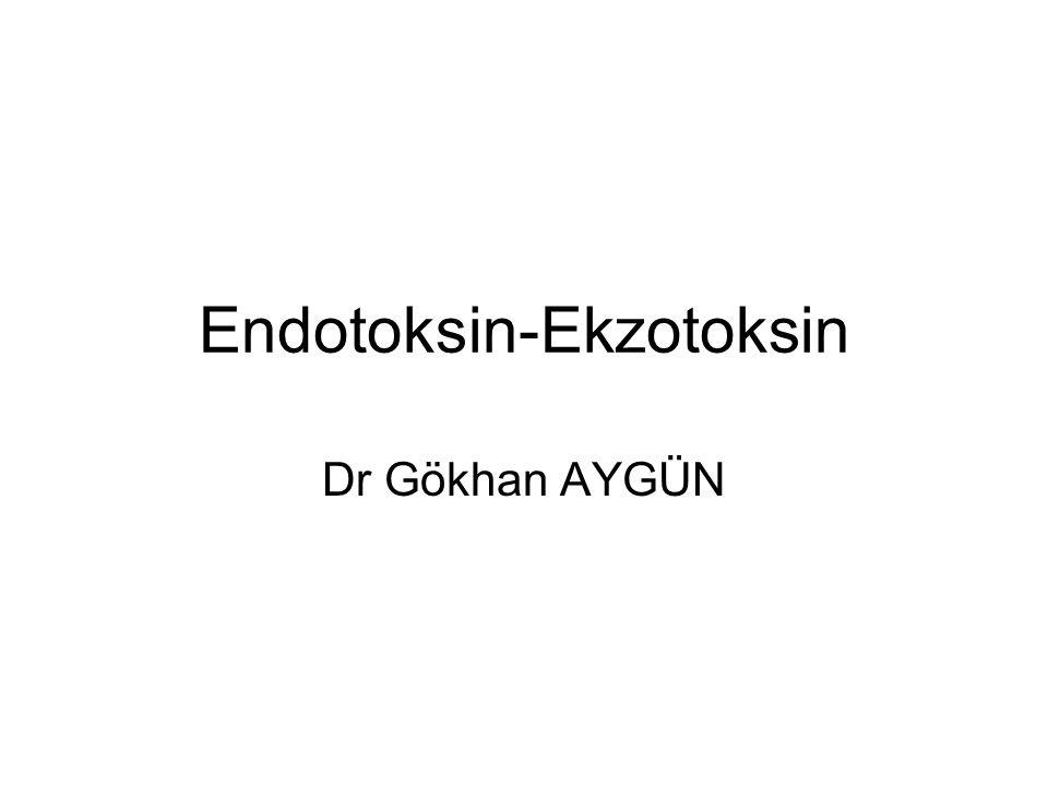 Endotoksin-Ekzotoksin