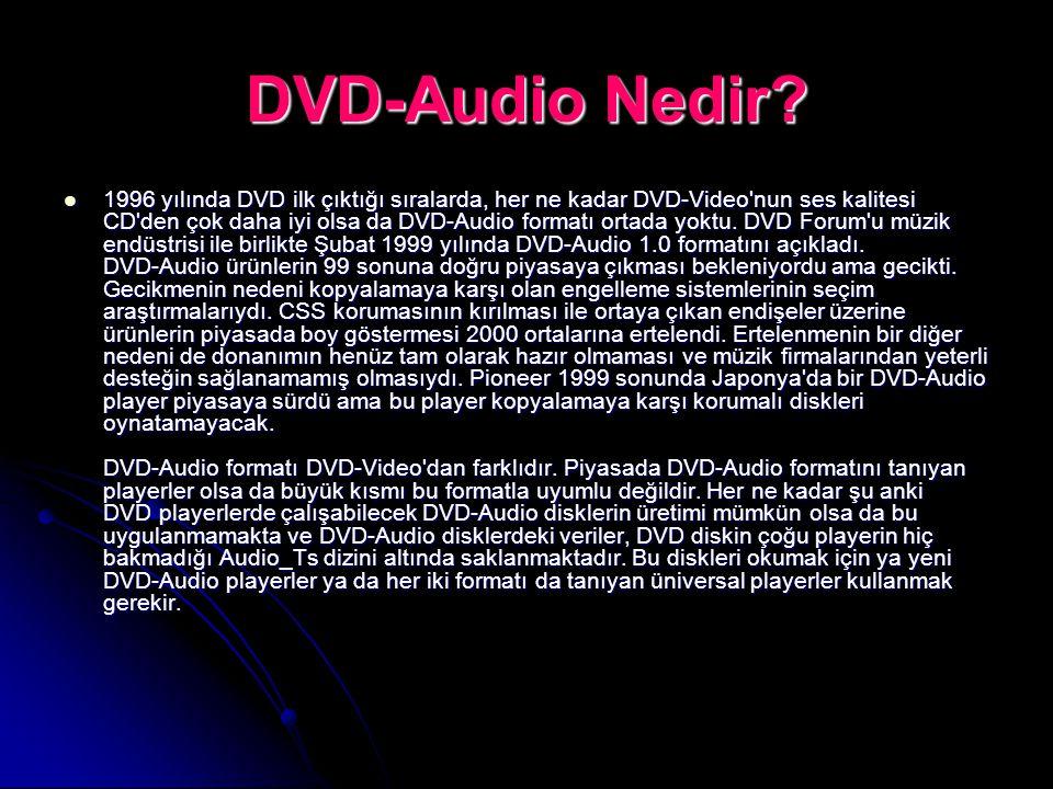 DVD-Audio Nedir