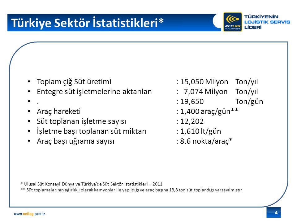 Türkiye Sektör İstatistikleri*