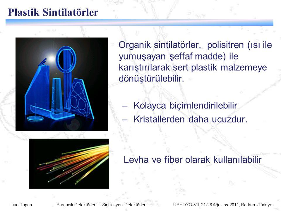 Plastik Sintilatörler