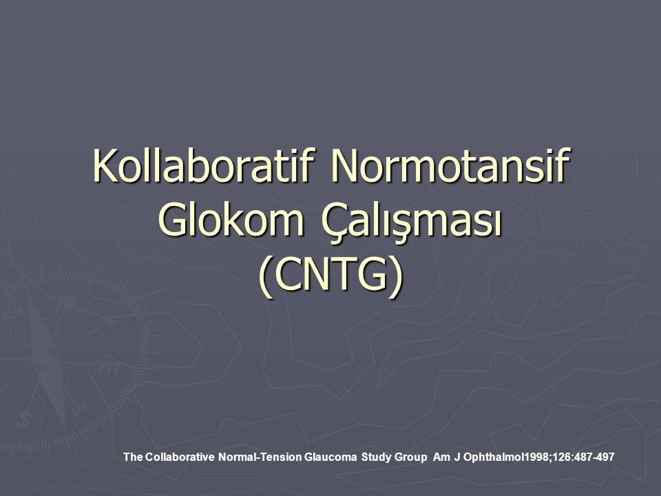 Kollaboratif Normotansif Glokom Çalışması (CNTG)