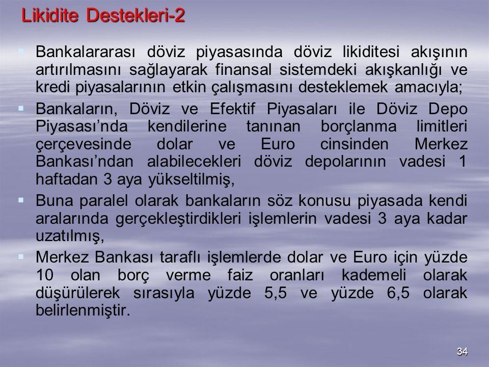 Likidite Destekleri-2