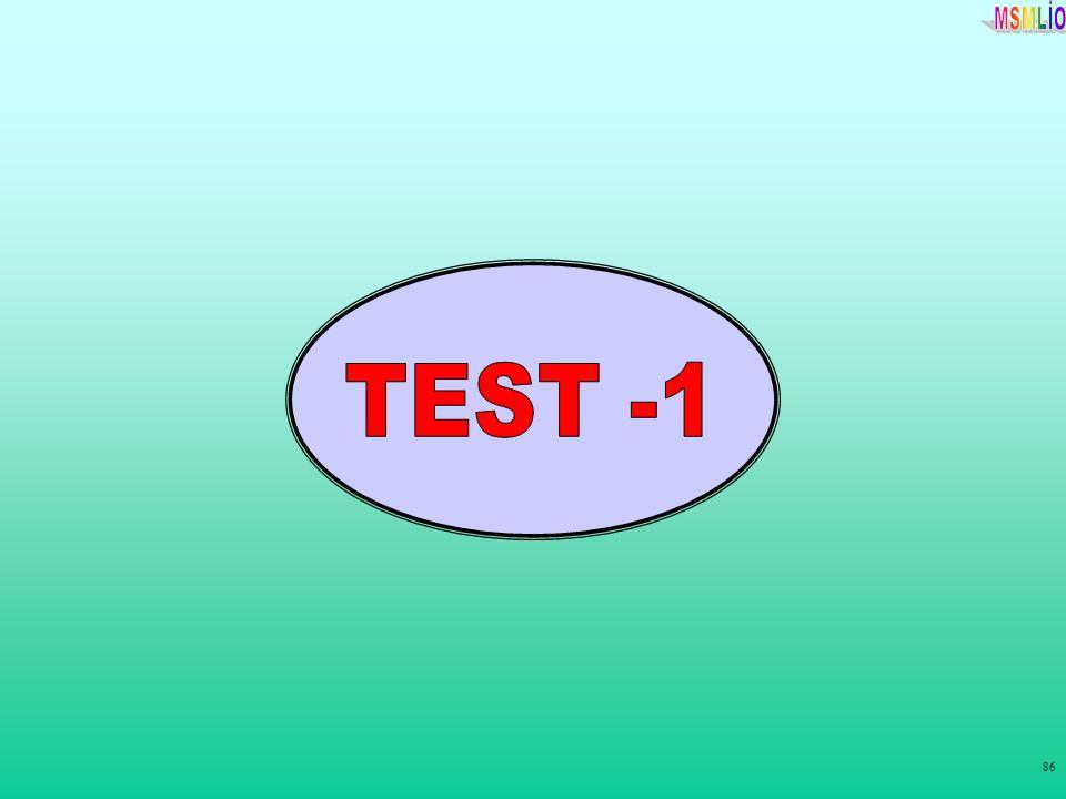 TEST -1