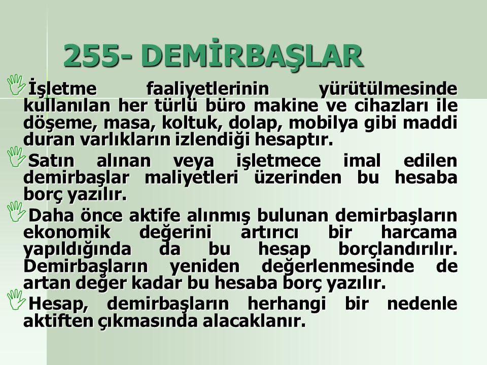255- DEMİRBAŞLAR