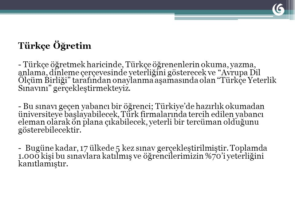 Türkçe Öğretim