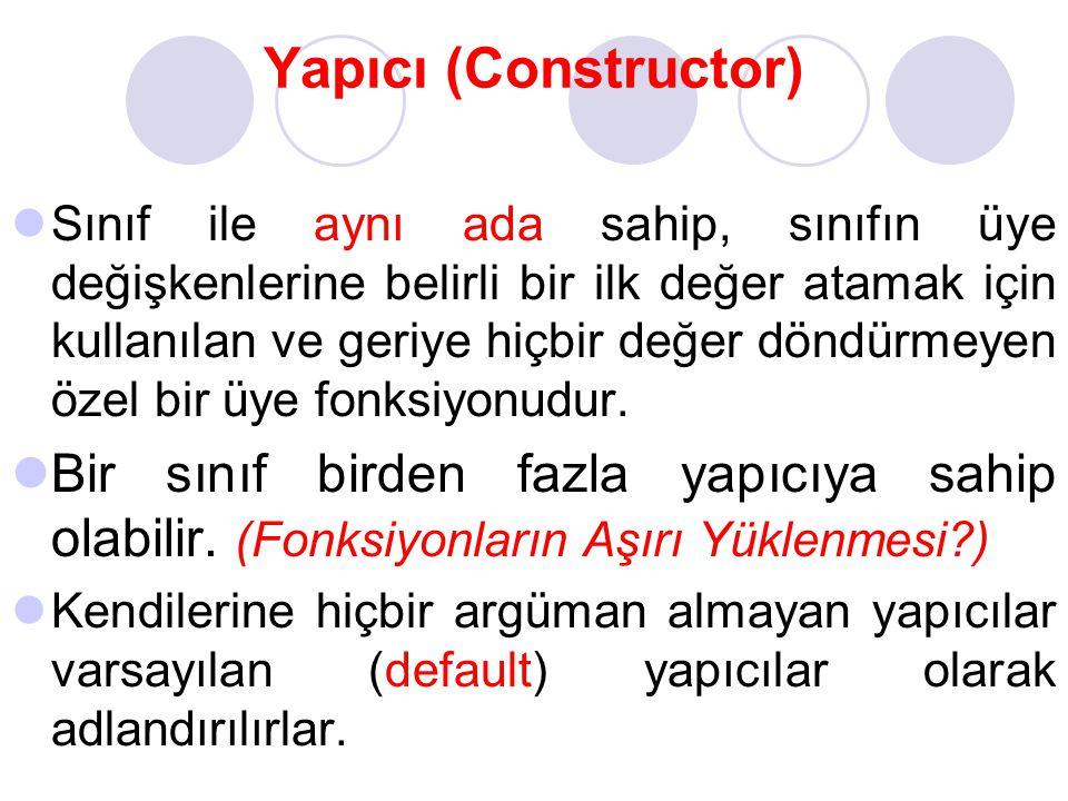 Yapıcı (Constructor)