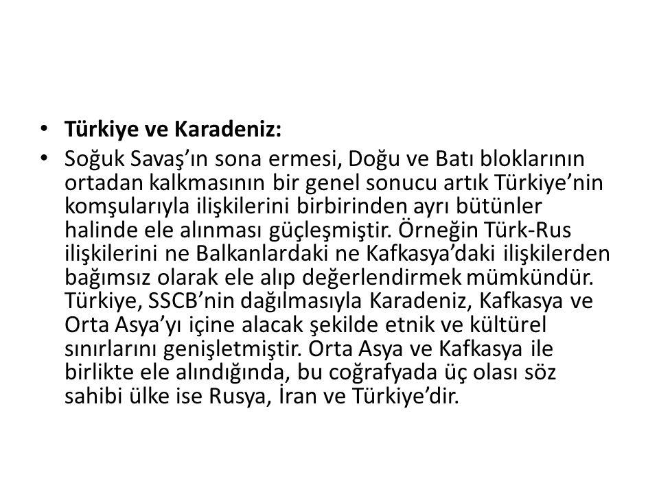 Türkiye ve Karadeniz: