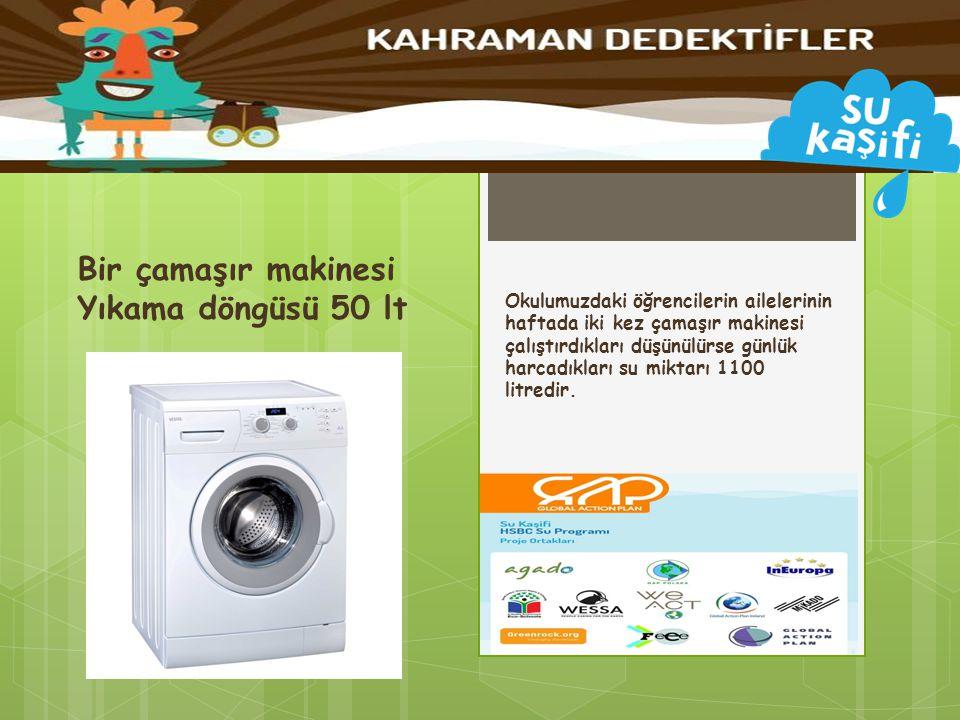 Bir çamaşır makinesi Yıkama döngüsü 50 lt