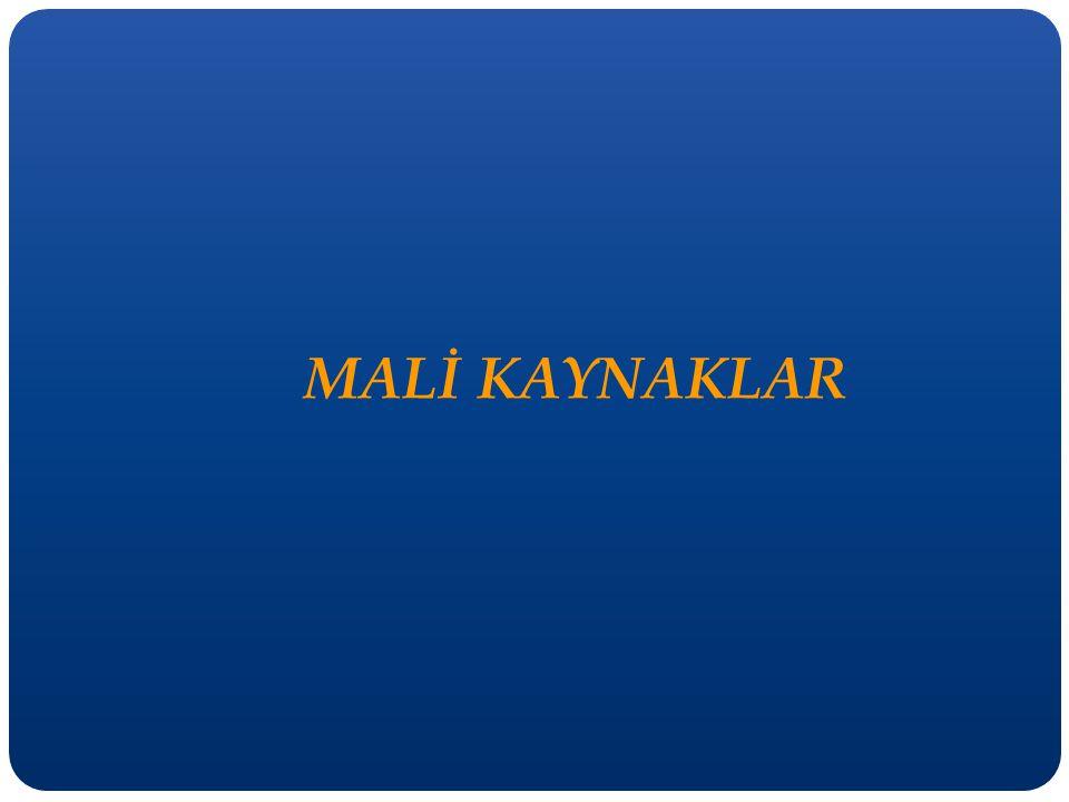 MALİ KAYNAKLAR