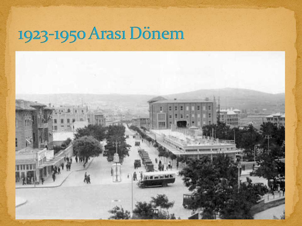 1923-1950 Arası Dönem